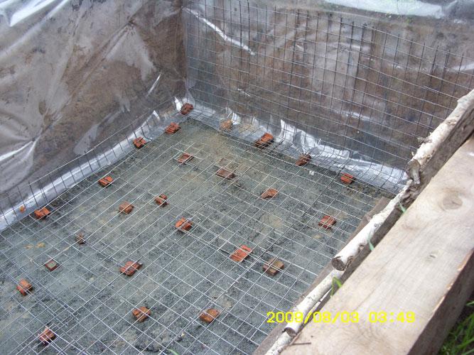Как построить бассейн своими руками в доме видео
